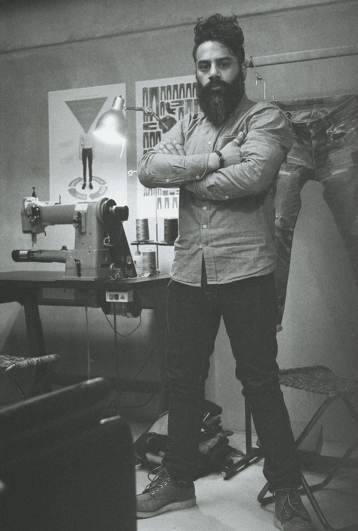 Nudie Jeans X Robin Denim Wear & Tear Contest – Maurice